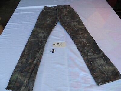 £13.93 • Buy Vintage Duxbak ADVANTAGE TIMBER Camo Jeans Pants 34x36 Hunting Made In USA