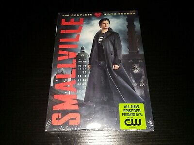 £14.51 • Buy Smallville: The Complete Ninth Season (DVD, 2010, 6-Disc Set) BRAND NEW SEALED!