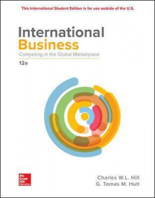 £83.14 • Buy ISE International Business: Competing In The Global Marketplace By Charles Hill