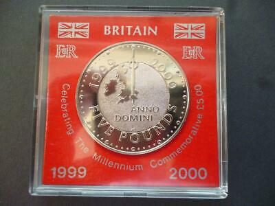 £13 • Buy 1999 £5 Coin Brilliant Uncirculated Cased (crown) Celebrating The Millenium