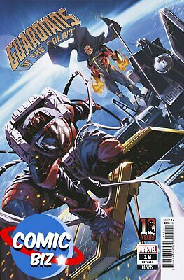 £3.65 • Buy Guardians Of The Galaxy #18 (2021) 1st Printing Miles Morales 10th Anni Variant