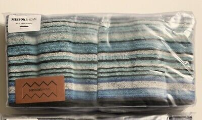 £34.45 • Buy Missoni Home Tabata Hand Towels-SET Of TWO-NEW In Package…Sold Out On Website.