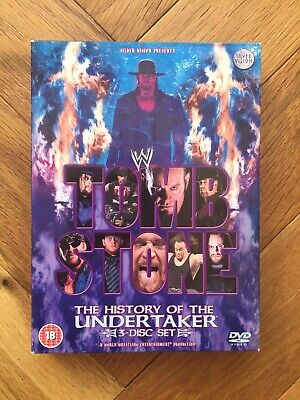 £5.99 • Buy WWE - Tombstone - The History Of The Undertaker (DVD, 2005) WWF Wrestling