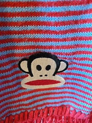 £0.99 • Buy Authentic Paul Frank Julius Face Striped Scarf