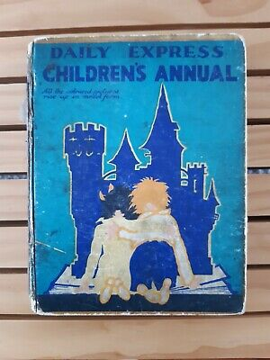 £100 • Buy Daily Express Children's Annual Number 1 1930s Rare Antique Book