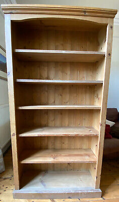£75 • Buy Solid Pine Wood Large And Tall BookCase