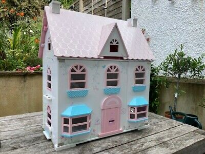 £10 • Buy Large Doll's House - Early Learning Centra