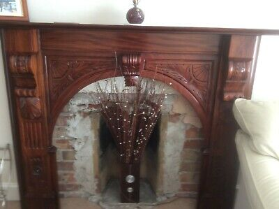 £125 • Buy Wooden Detailed Fire Surround - Excellent Condition