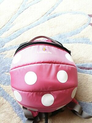 £6.50 • Buy LittleLife Disney Toddler Minnie Mouse Backpack With Rein - Pink