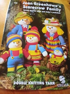 £3 • Buy Jean Greenhowe Scarecrow Family Knitting Book