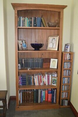 £45 • Buy Solid Pine Tall Bookcase