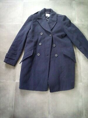 £5 • Buy Ladies Cotswold Collection Wool & Cashmere Navy Coat Size 10
