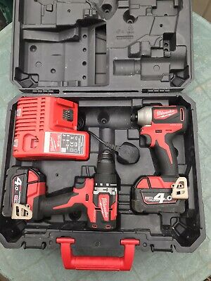 £180 • Buy Milwaukee Brushless Cordless Combi Drill And Impact Driver.