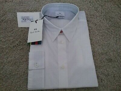 £39.99 • Buy Paul Smith Mens White Shirt  - Tailored Fit -XL (BNWT)
