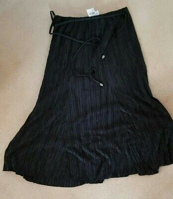 £2.99 • Buy Forever By Michael Gold Skirt Black Size L Brand New With Tags