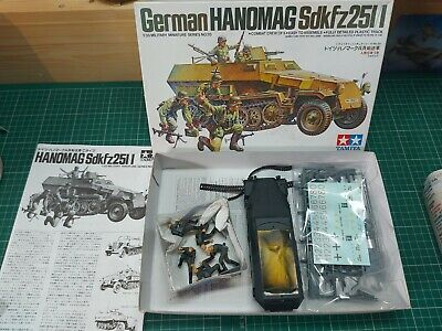 £5 • Buy Tamiya 1/35 German Army Part Built Sets / To Complete Of Spares