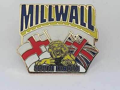 £5.90 • Buy Millwall The Lions Vintage Pin Badges Hooligan Pin The Den The Dockers Kitchener