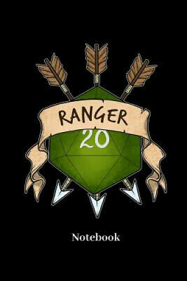 £16.02 • Buy Ranger Notebook: Dot Grid Notebook For Fantasy Role Play Game Fans I Boardgame