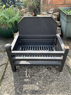 £30 • Buy Antique Cast Iron Basket Grate For Open Fire. Very Heavy, Collection Only