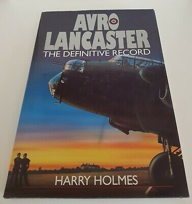 £12.99 • Buy AVRO Lancaster Definitive Record WWII Dambusters RAF Bomber Aircraft - Holmes