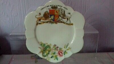 £12 • Buy Queen Victoria : Diamond Jubilee, 1897 : Old Foley China Plate : Longest Reign