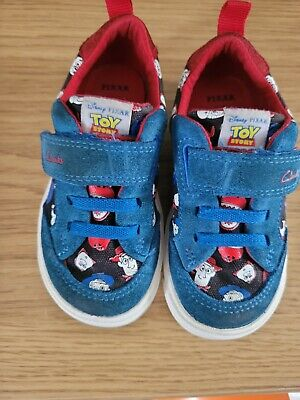 £12 • Buy Clarks Toy Story Trainers Size 6.F Boys Shoes