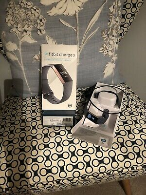 View Details Fitbit Charge 3 Fitness Watch - Rose Gold • 30£
