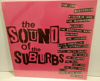 £15 • Buy The Sound Of The Suburbs Vinyl LP 2020,New,!! 17 New Wave/Punk 70s/80s Classics!