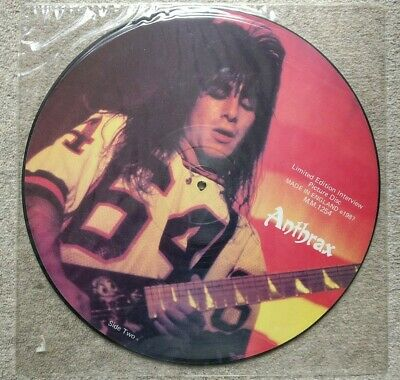 £1.50 • Buy Anthrax Limited Edition Interview Picture Disc M.M. 1254