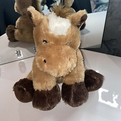 £1.50 • Buy Soft Cuddly Plush Toy Brown Horse Pony Dunnes