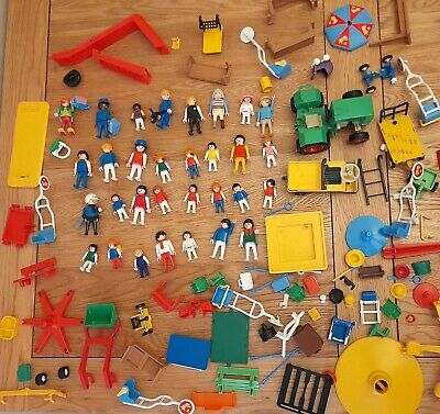 £0.99 • Buy Vintage/Classic Playmobil Job Lot 1.2kg Figures, Playground, Tractor Accessories