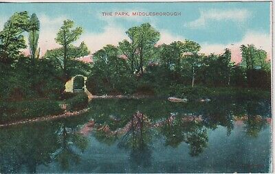 £1.85 • Buy YORKSHIRE - Pre 1910 Postcard Of The Park, MIDDLESBOROUGH.  Un Posted