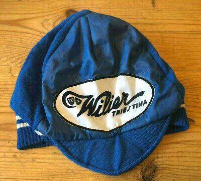 £25 • Buy Vintage Willier Triestina Winter Cycling Cap