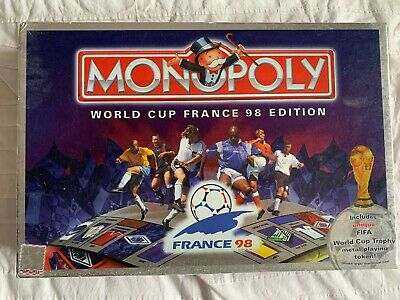 £14.99 • Buy Monopoly World Cup France 1998 Edition Football Board Game Good Condition
