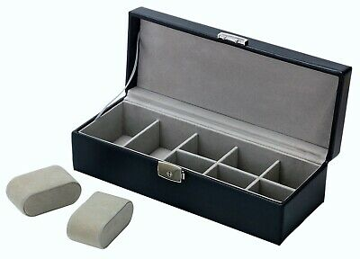 £0.99 • Buy Watch Display Case Jewellery Collection Storage Holder Box UK,Brand New