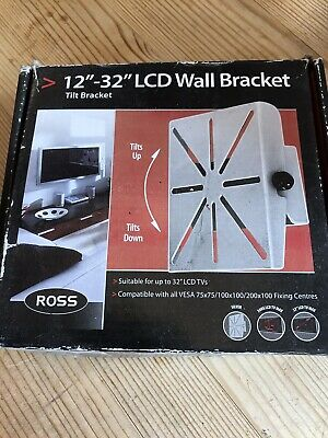 £0.99 • Buy Ross 12  - 32  LCD TV Television Wall Bracket