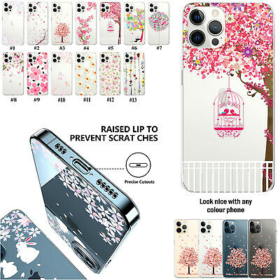 £3.97 • Buy Case Cover For Apple IPhone 13 11 IPod Touch 7th Generation Flower Tree Pattern