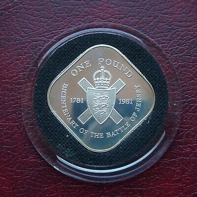 £10 • Buy Jersey 1981 Silver Proof One Pound Coin
