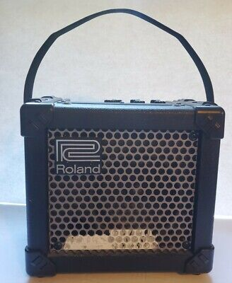AU99.85 • Buy Roland Micro Cube Electric Guitar Amp Amplifier Battery Powered
