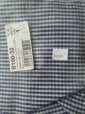 £4.90 • Buy Ladies Chef Trousers Blue/white Small Check Size 32 Zip And Button Waist