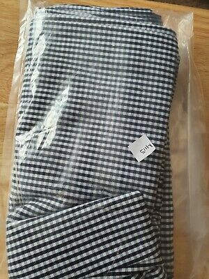 £4 • Buy Ladies Chef Trousers Blue/white Check Size 36