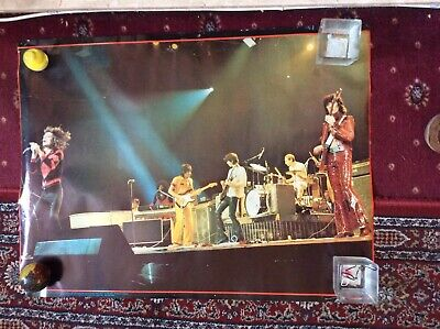 £8.99 • Buy Rolling Stones Poster Original. Seventies Poster. 25 Inches By 32 Inches.
