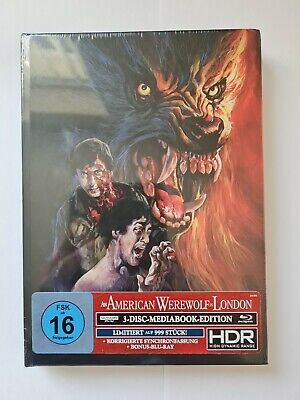 £55 • Buy An American Werewolf In London Ultra Hd 3 Disk Limited Edition Collector Set