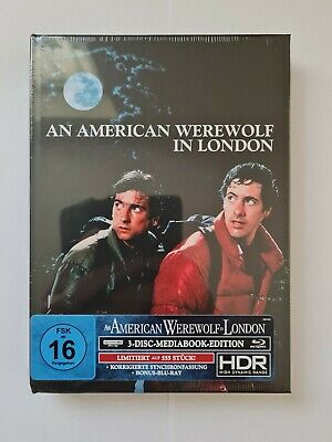 £55 • Buy An American Werewolf In London Ultra Hd 3 Disk Ltd Edition Collector Usa Cover