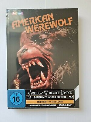 £45 • Buy An American Werewolf In London Blu-ray 2 Disk Ltd Edition Collector German Cover