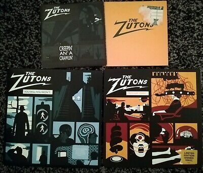"""£14 • Buy The Zutons - Pressure Point 7"""" Vinyl Signed Autographed"""