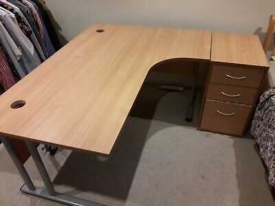 £29.99 • Buy Stylish Executive Office Desk In Excellent Second-hand Condition