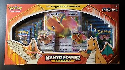 $179.99 • Buy Pokemon TCG Kanto Power Collection (Dragonite EX) Evolutions FACTORY Sealed