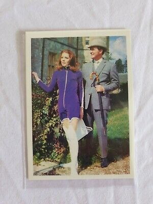 £1.50 • Buy The Avengers C1 Promotional  Trading Card Diana Rigg Emma Peel And Steed