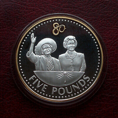 £4 • Buy Guernsey 2006 Silver Proof 5 Pound Coin